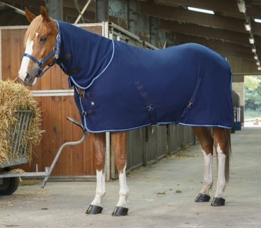 "Ekkia RIDING WORLD ""Combo"" Polar Fleece Decke mit Hals"